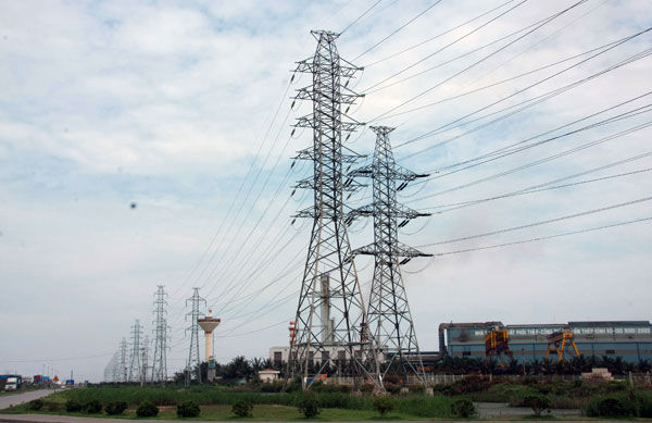 Đo khoảng cách đi dây trong xây lắp điện